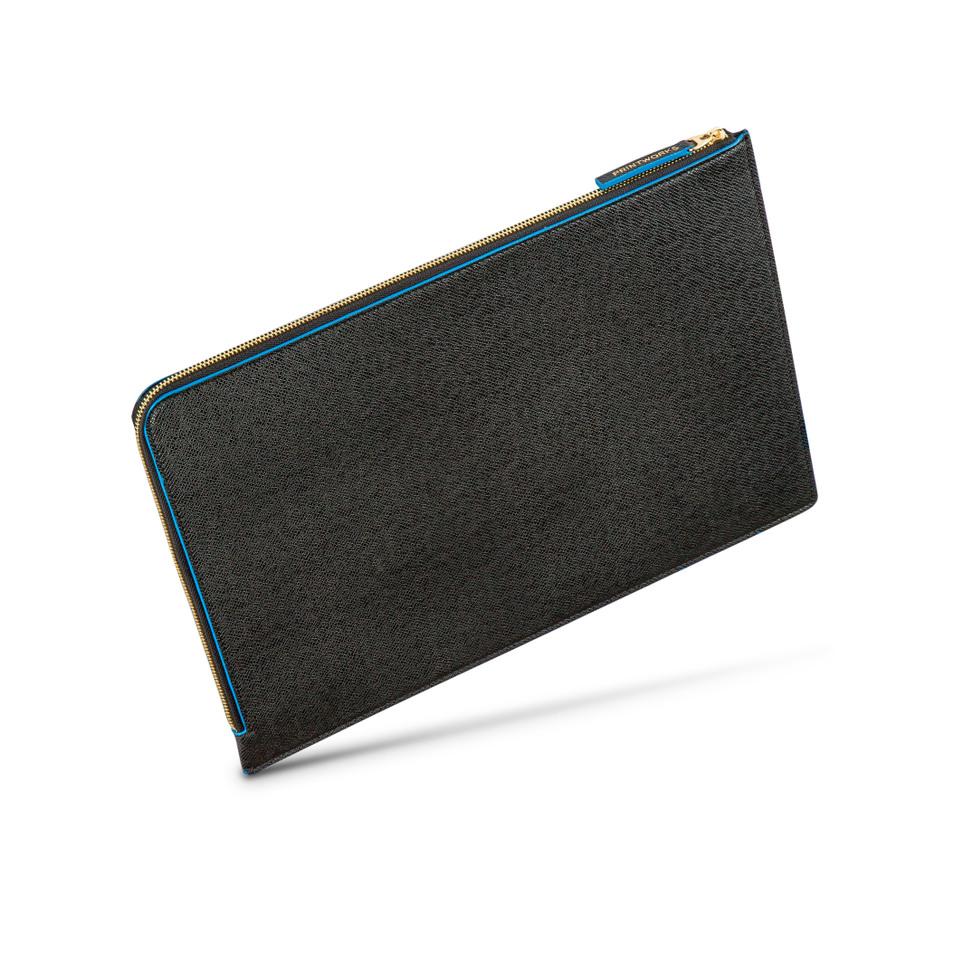 Black/Blue laptop case - 13-15 inches