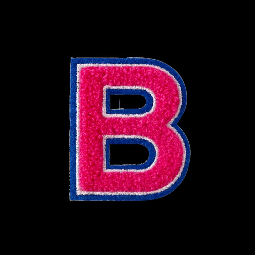Letter B Fluffy Sticker