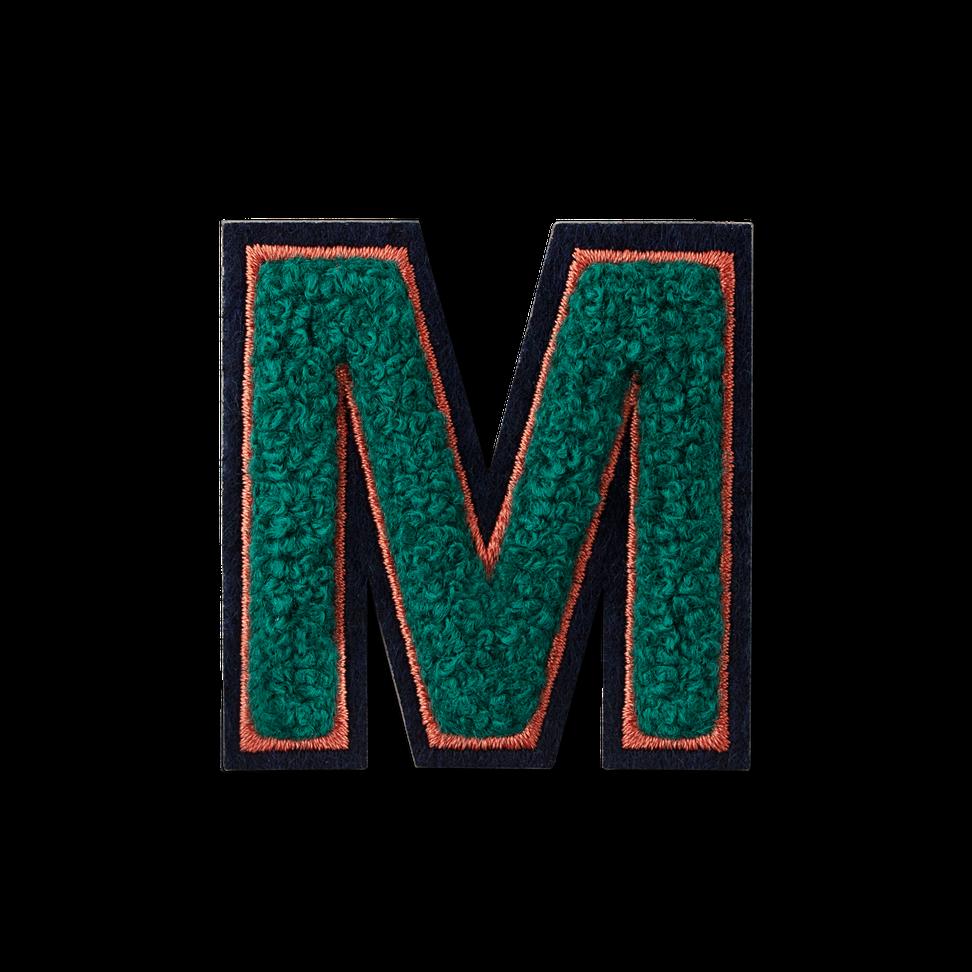 Letter M Fluffy Sticker