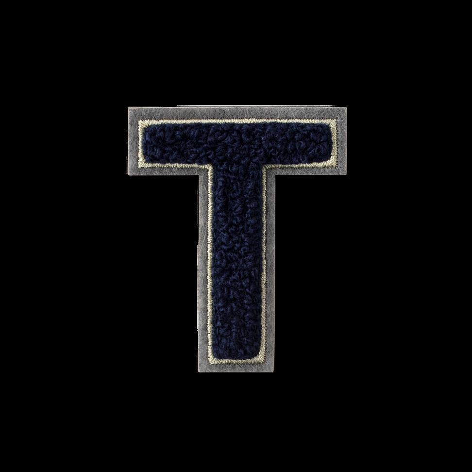 Letter T Fluffy Sticker