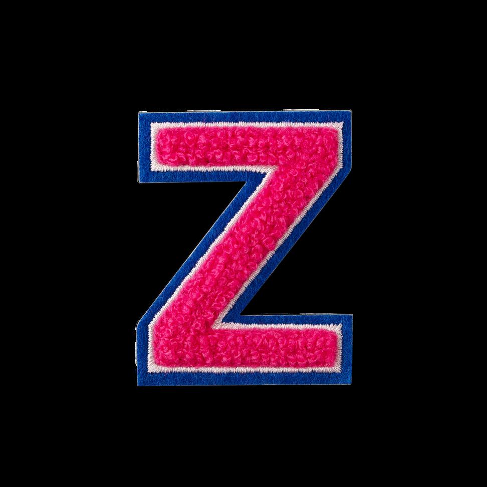 Letter Z Fluffy Sticker