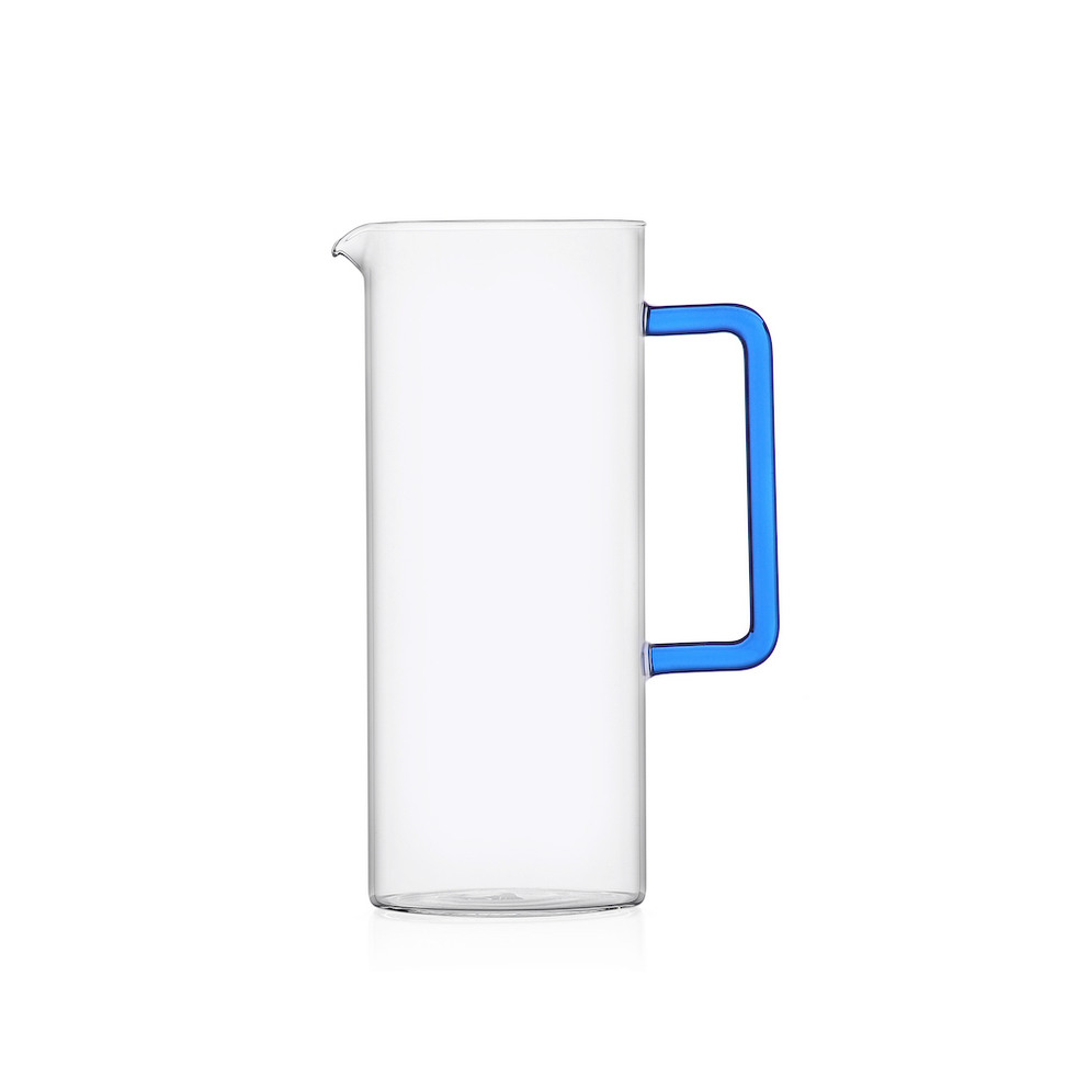 Ichendorf Carafe with blue handle