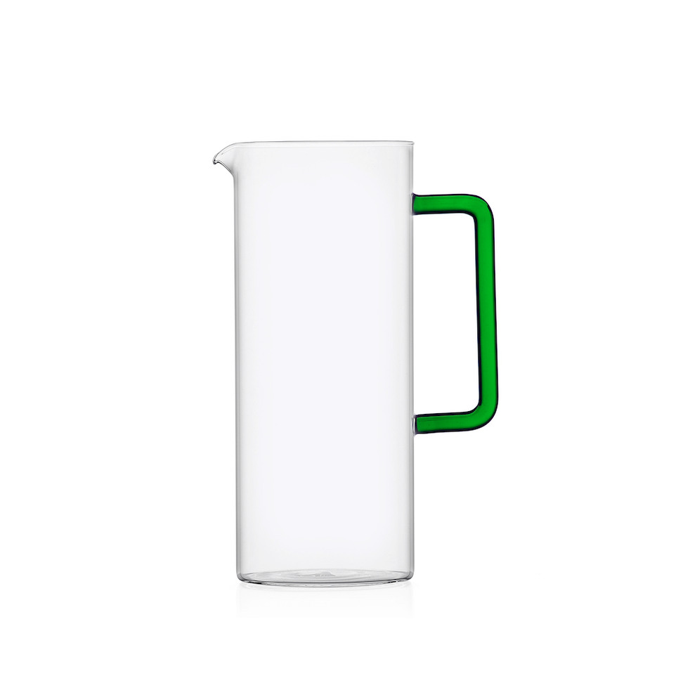 Ichendorf Carafe with green handle