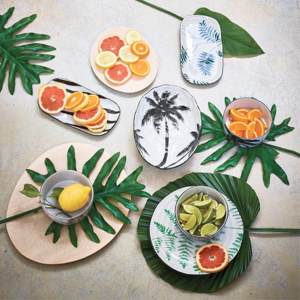 Product image Jungle Porcelain Serving Plate