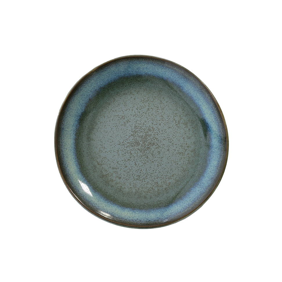 Ceramic 70s Dessert Plate