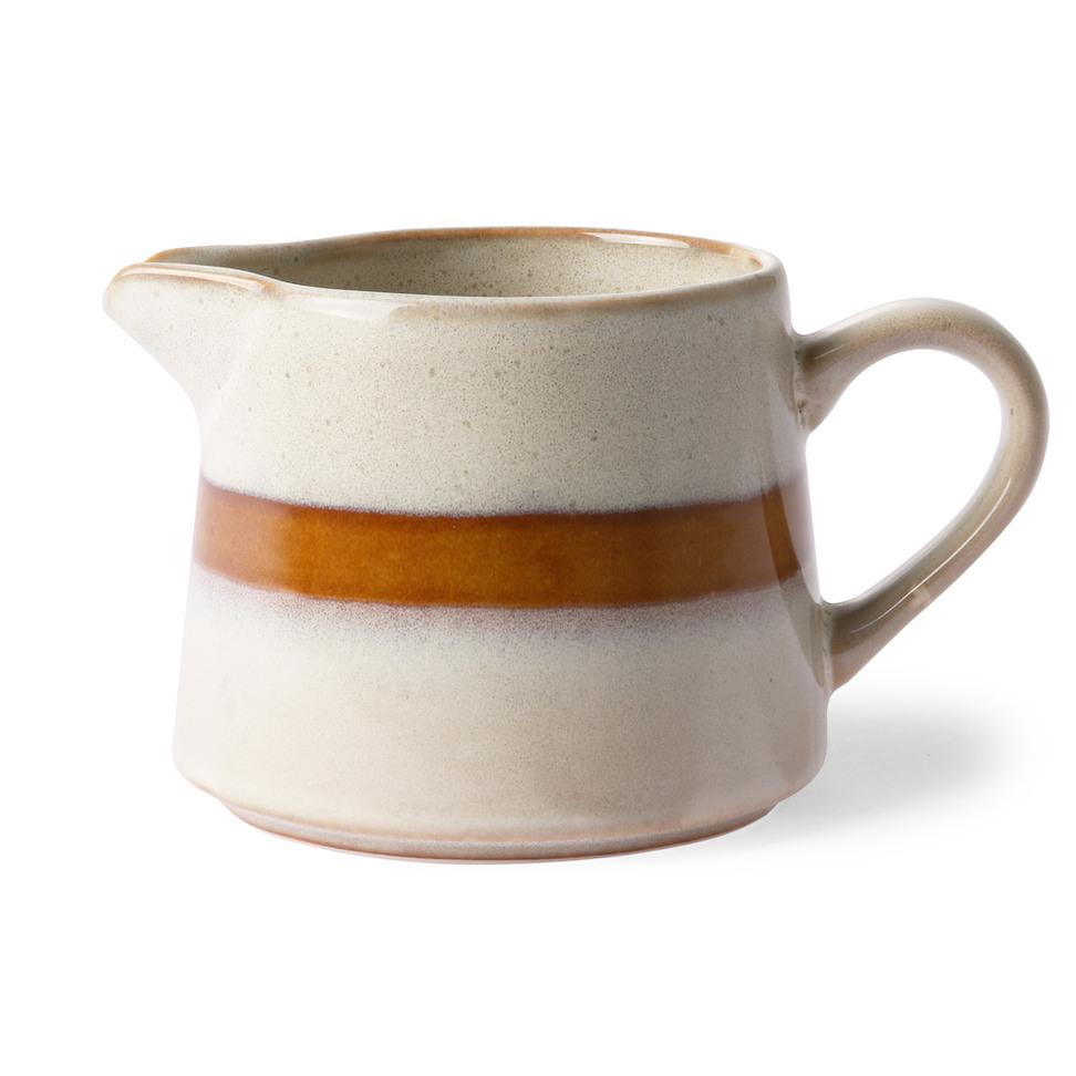 Ceramic 70s Creamer
