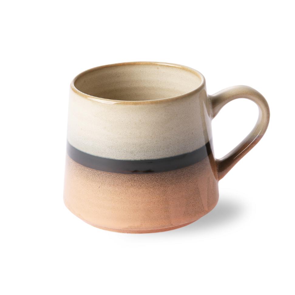 Ceramic 70s Tea Mug