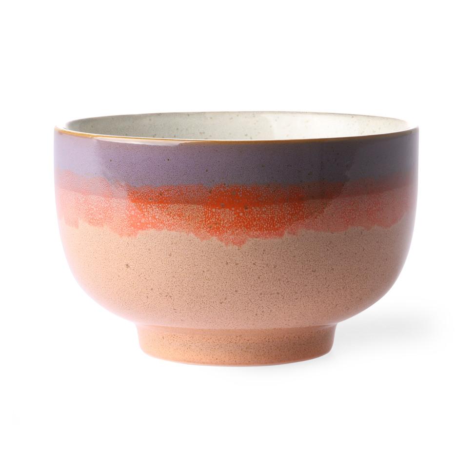 70s ceramics noodle bowl