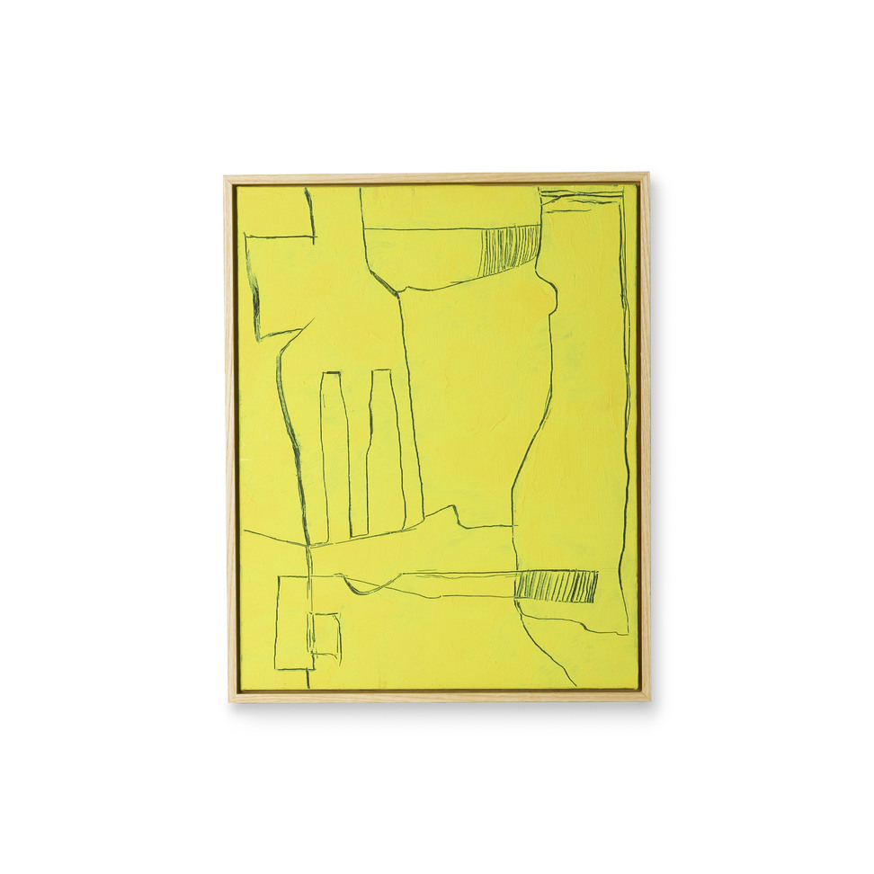 Product image Framed Brutalism Painting