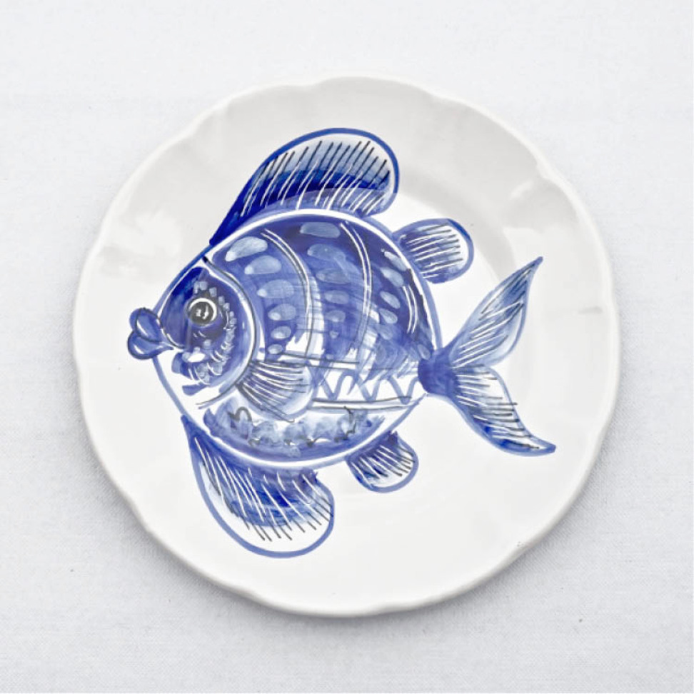 Solimene Dinner Plate Fish