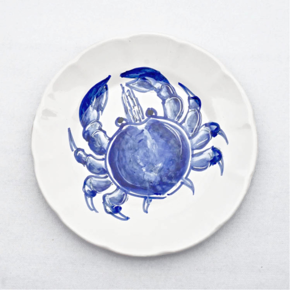 Solimene Dinner Plate Crab