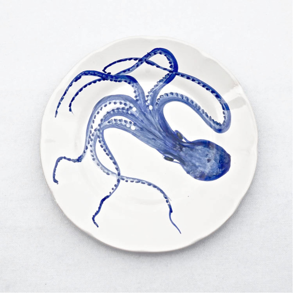 Solimene Dinner Plate Octopus