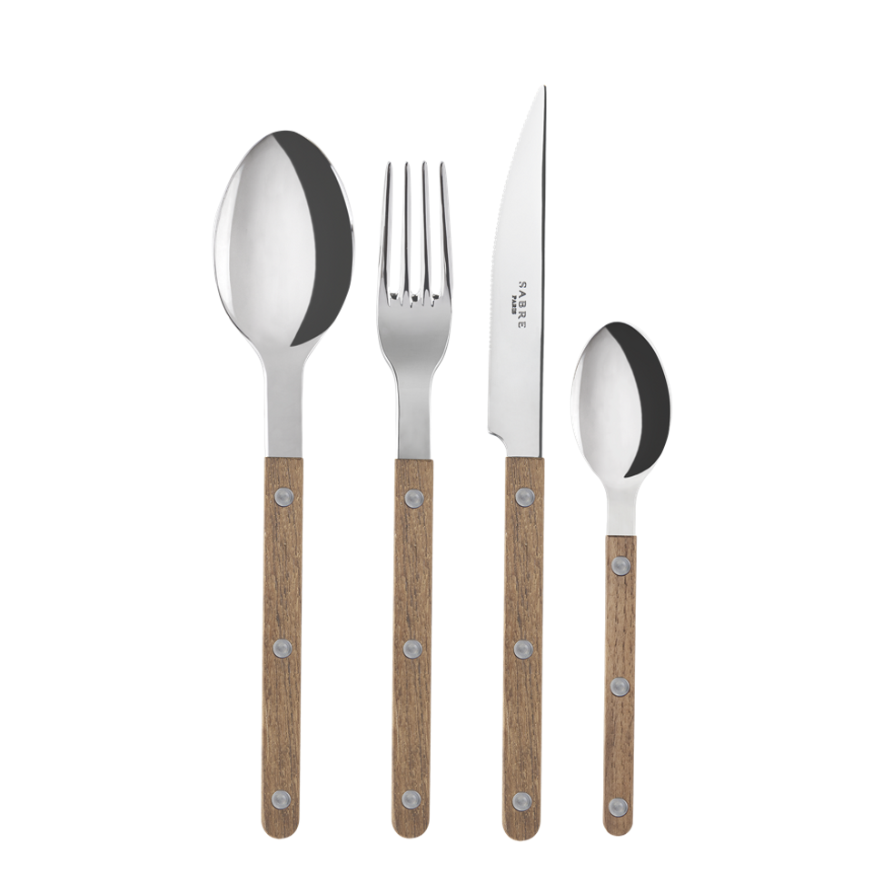 Le Sabre set of 4 (Fork, Knife, Spoon, Tea Spoon)