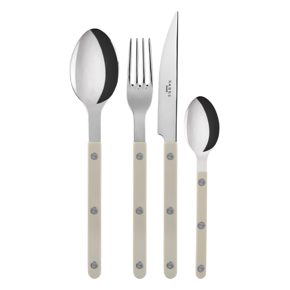 Le Sabre set of 4 (Fork , Knife, Spoon, Tea Spoon)