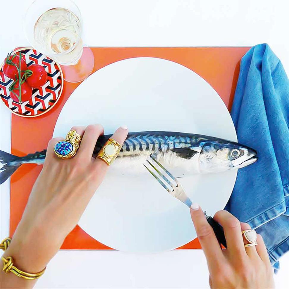 Scarameo Dinner Coaster
